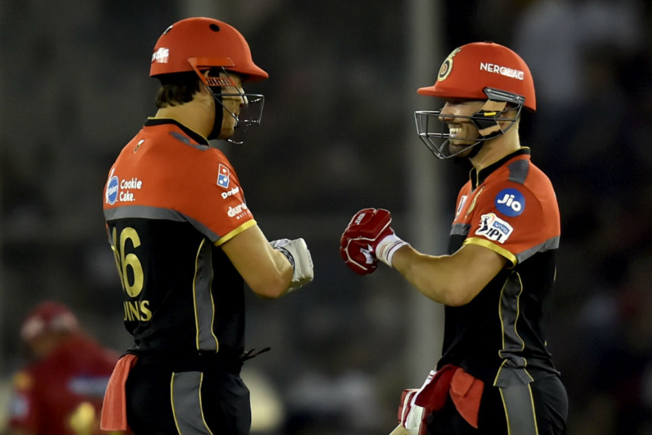 Ipl 2019 Batting With Ab De Villiers Makes Job Easier Says Marcus Stoinis
