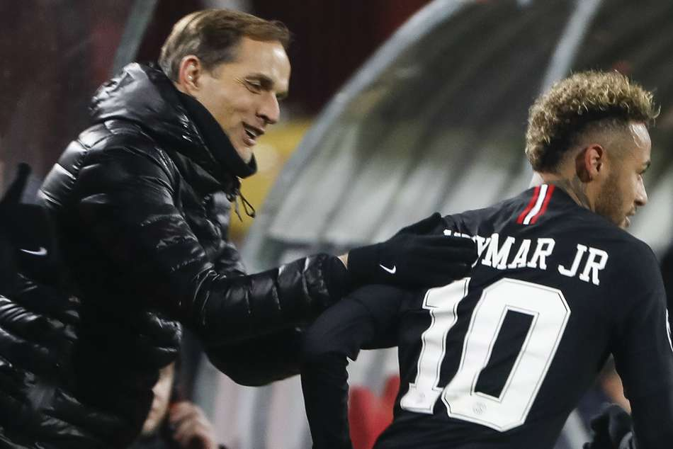 Thomas Tuchel Neymar Paris Saint Germain Coupe De France Final