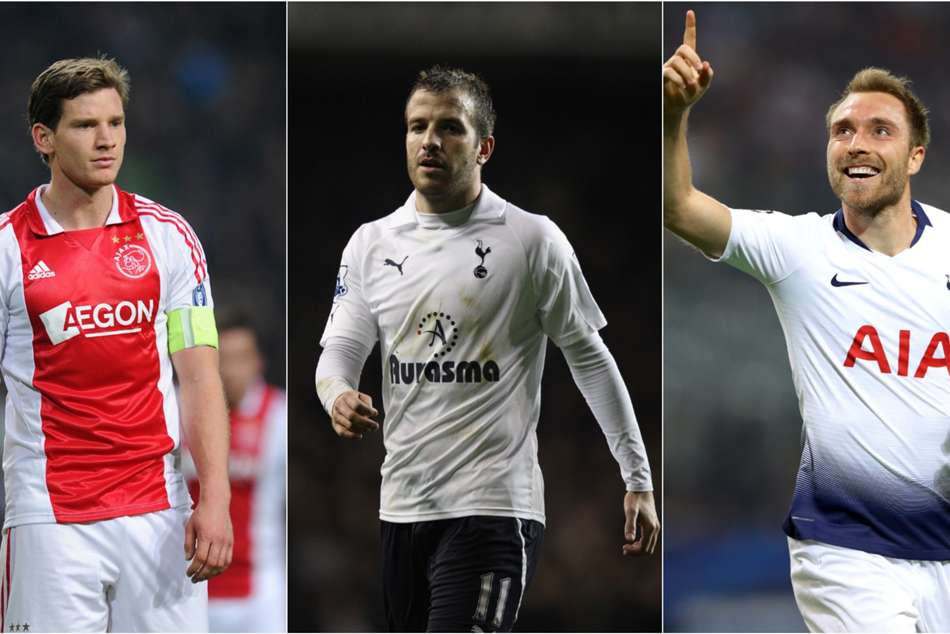 Tottenham V Ajax Players To Play For Both Ranked
