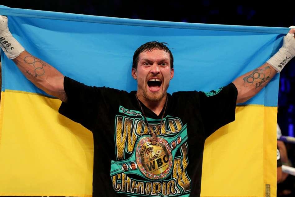 Oleksandr Usyk Heavyweight Bow Takam Maryland