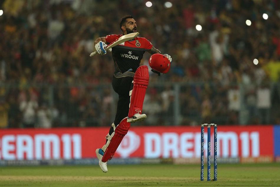 Ipl 2019 Virat Kohli Slams Fifth Ipl Ton Cricketing Fraternity Hails King Kohli