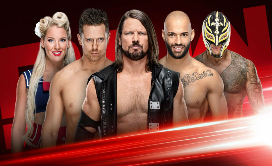 best service 653f1 3894d Drafted Superstars to Monday Night Raw (image courtesy WWE.com)
