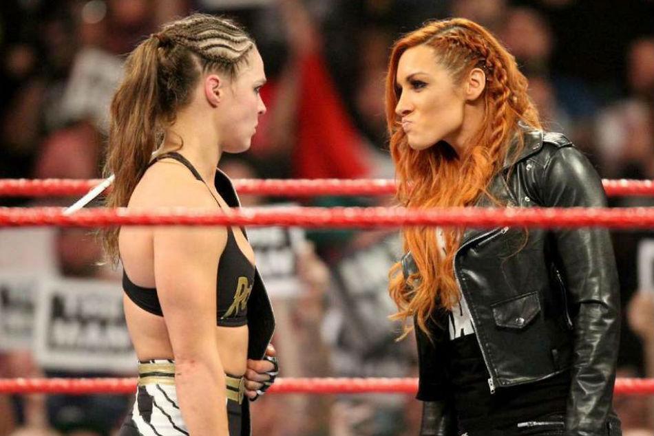 Rumour Ronda Rousey Vs Becky Lynch Set For Wwe Summerslam 2019