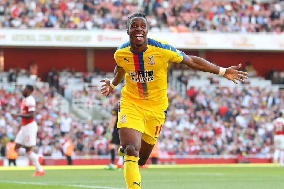 Arsenal 2 Crystal Palace 3 Zaha On Target As Gunners Slip Up In Top Four Race
