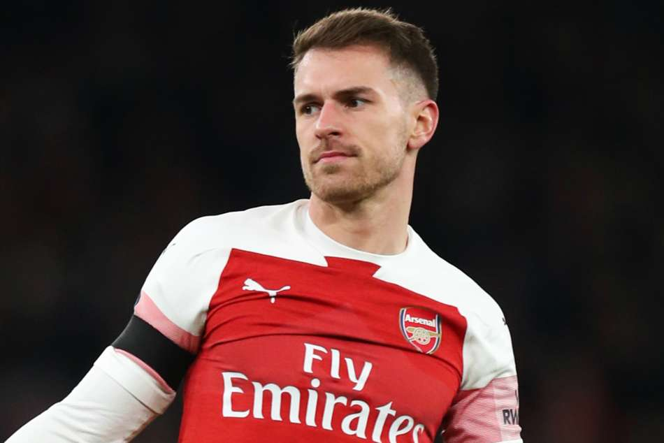 Arsenals Aaron Ramsey is still sidelined with the hamstring injury sustained in the quarter-final second-leg win over Napoli