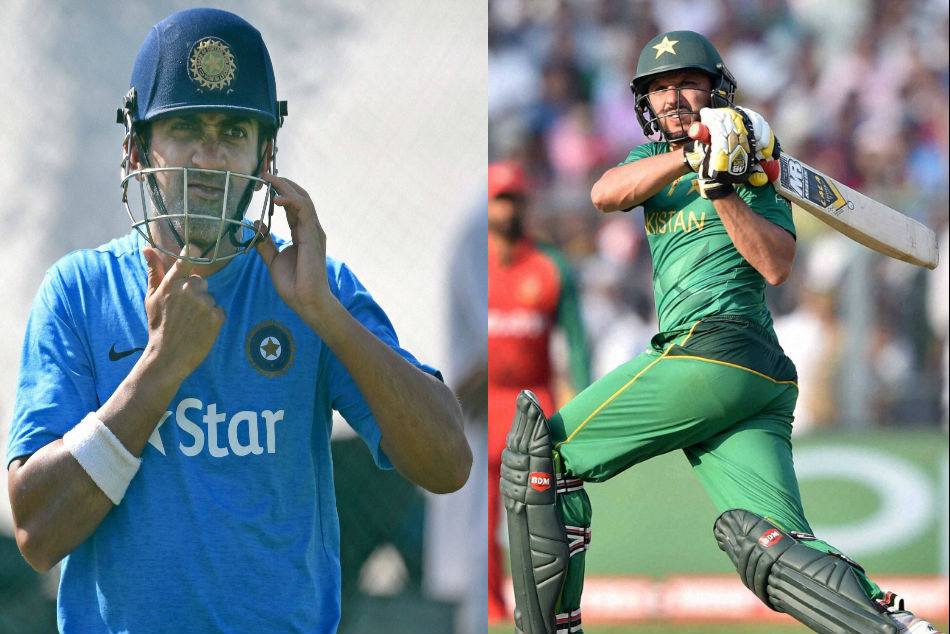 Shahid Afridi Criticises Gautam Gambhir In His Autobiography The Game Changer