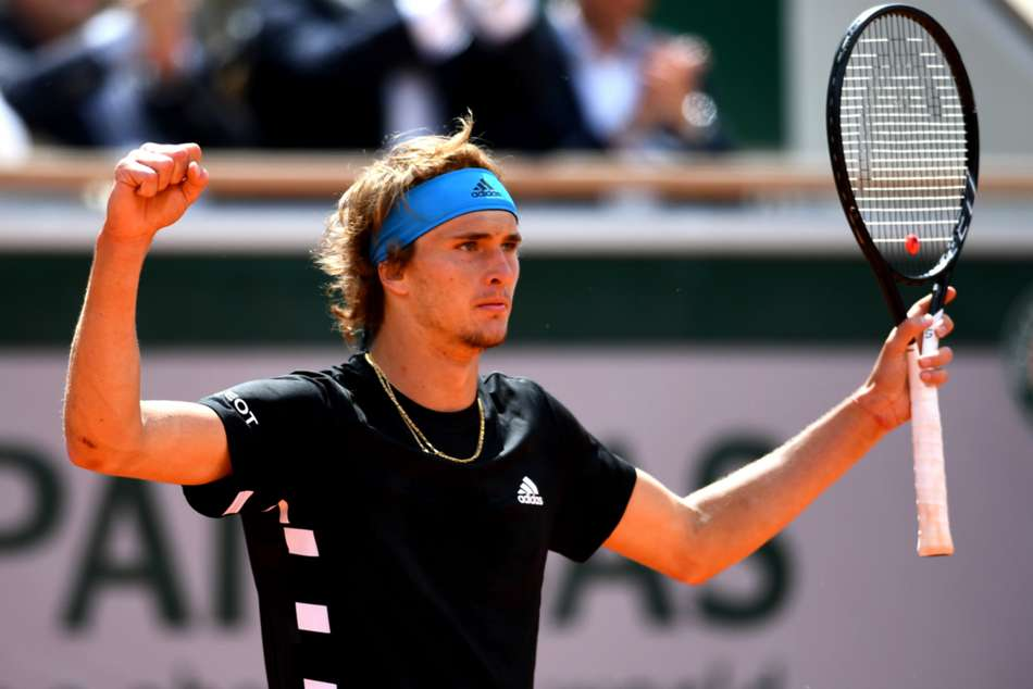 Alexander Zverev saw a two-set lead evaporate before eventually triumphing against John Millman