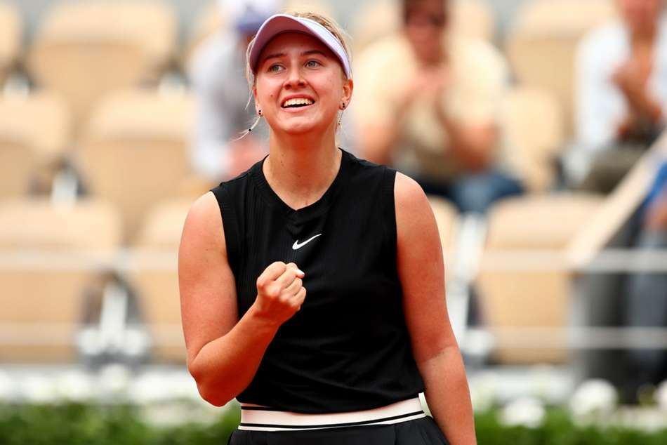 Anastasia Potapova stunned Angleique Kerber in the first round of French Open