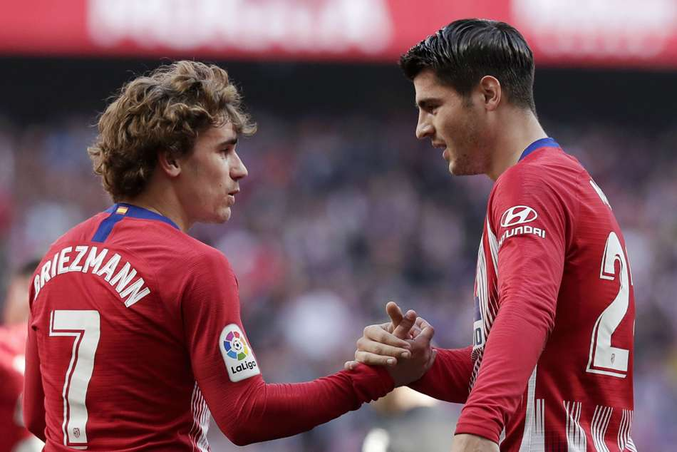 Antoine Griezmann Leaving Atletico Alvaro Morata Demands Respect
