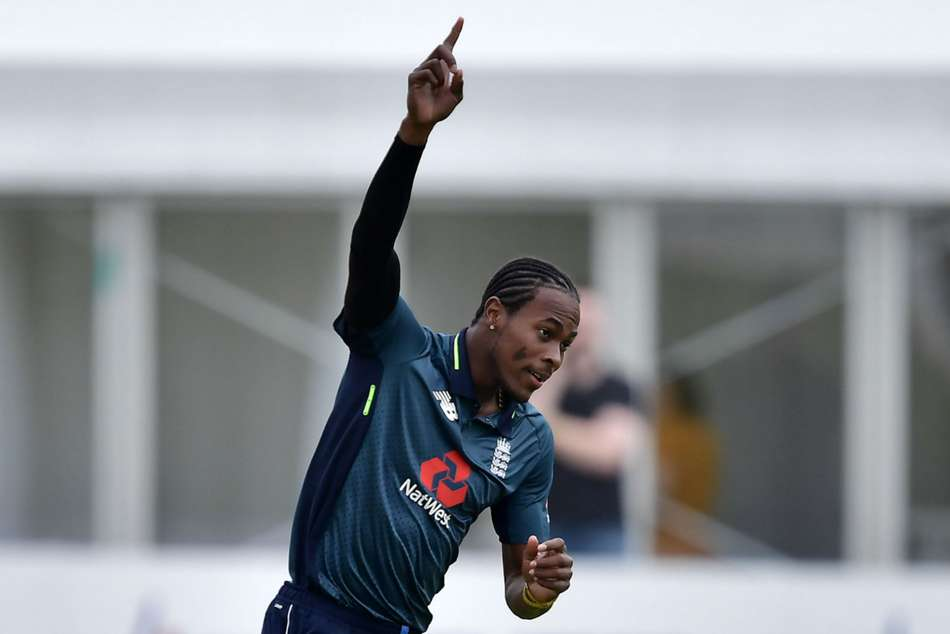 Jofra Archer became eligible to play for England this year