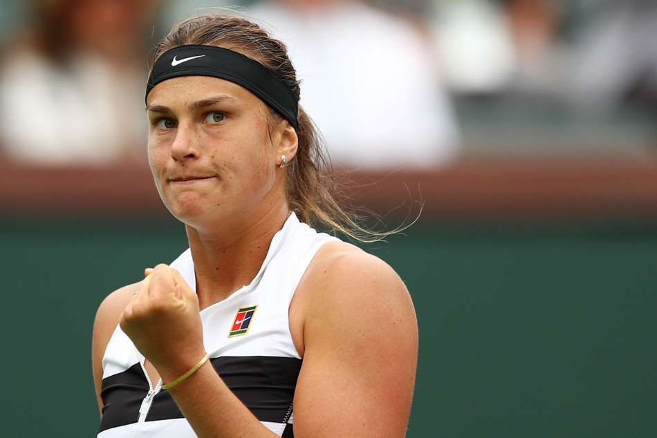 Sabalenka through on busy day in Strasbourg