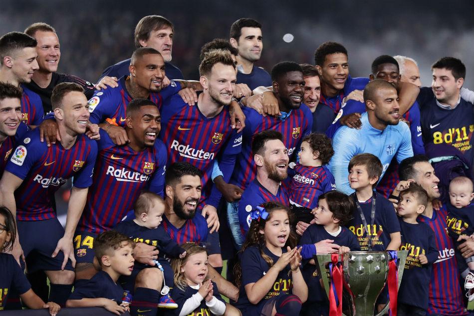La Liga Feature Barcelona S Incredible Journey