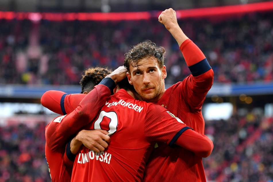 Bayern Munich 3 Hannover 1 Bundesliga Leaders Another Step Towards Title Match Report