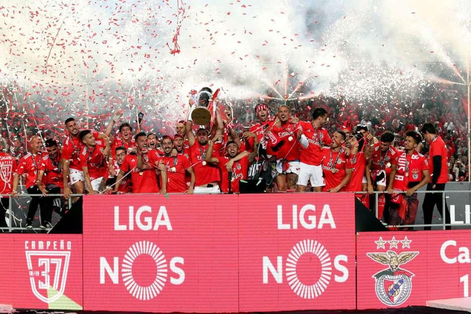 Benfica Win Primeira Liga Title With Santa Clara Porto