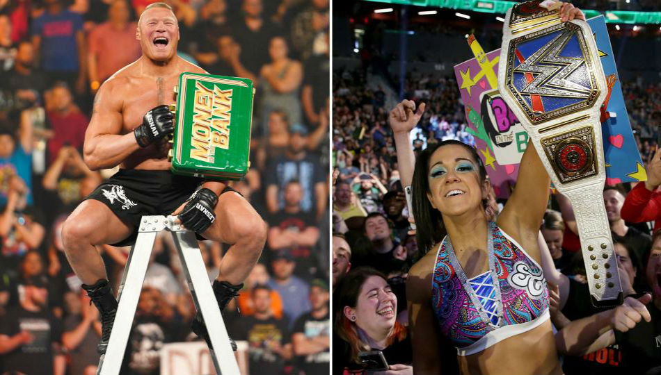 Brock Lesnar returns to win 2019 Money in the Bank, Bayley cashes in!