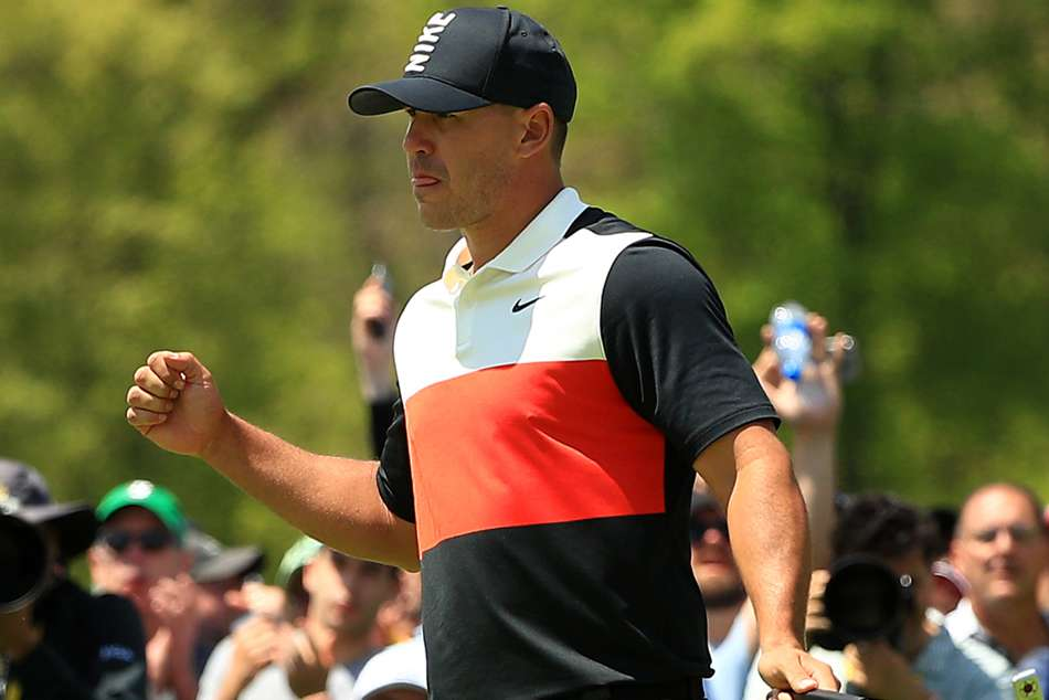 Us Pga Brooks Koepka Fires Course Record Lee One Back