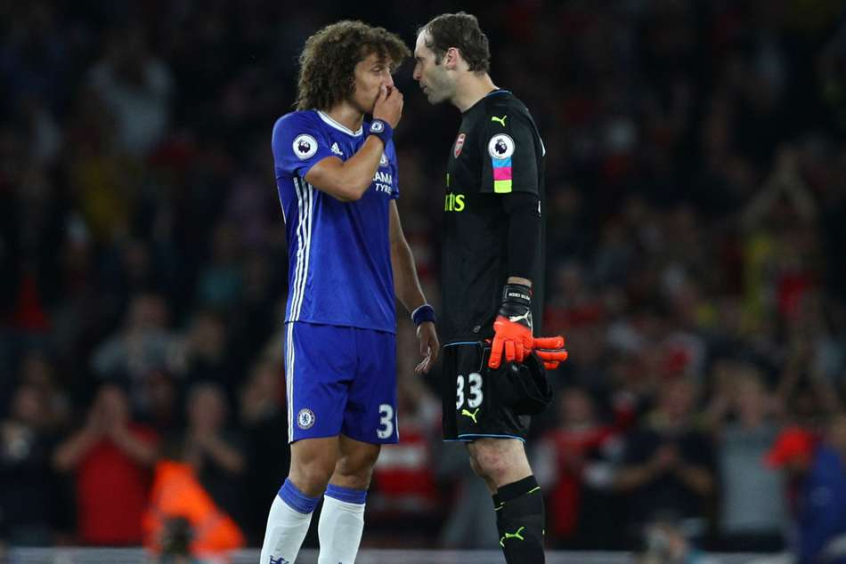 David Luiz hails Cech but hopes to send former team-mate out with a defeat