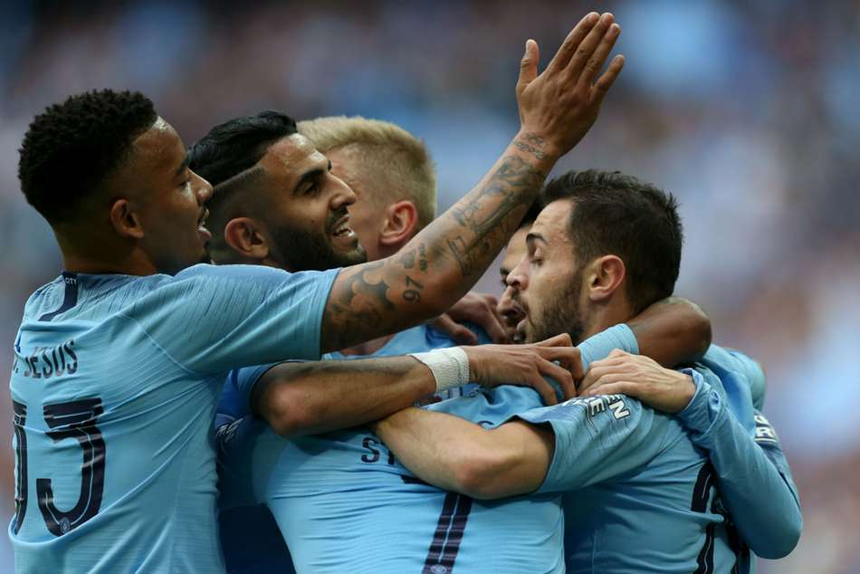 Fa Cup Manchester City 6 Watford 0 Sterling Hat Trick Helps Secure Unprecedented Domestic Treble
