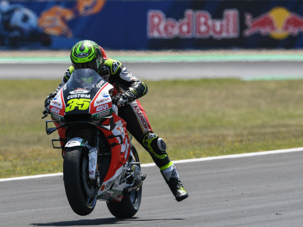 Crutchlow in the mix