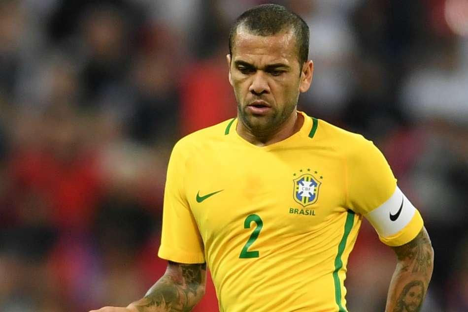 Dani Alves Neymar Captain Brazil Copa America