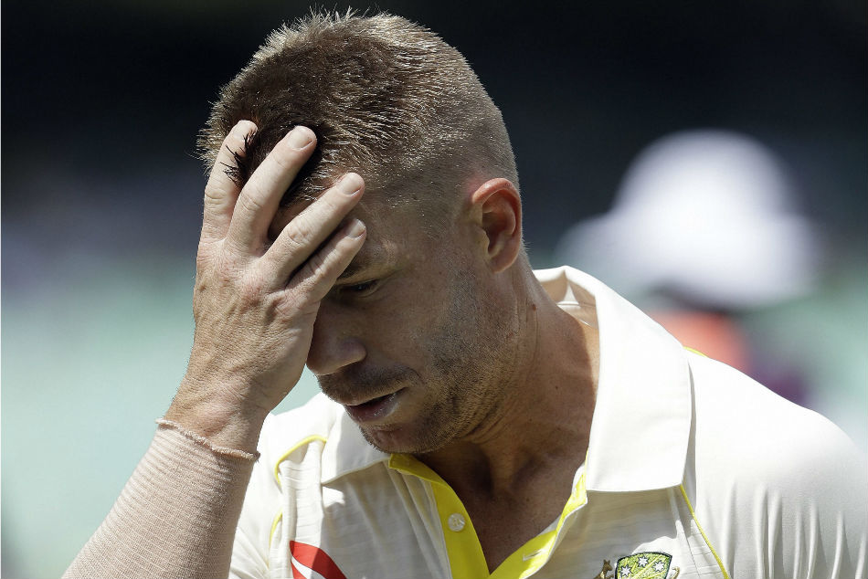 Australia batsman David Warner was trolled by Barmy Army