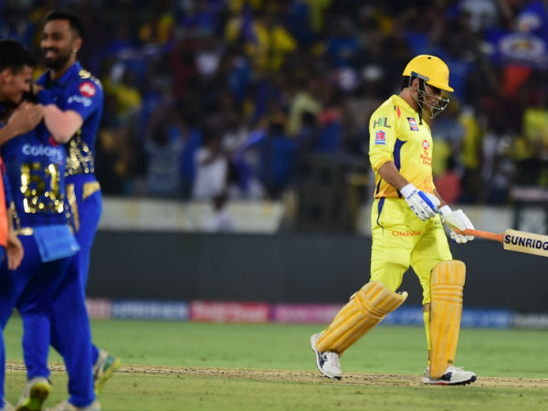 2. The run out of Dhoni