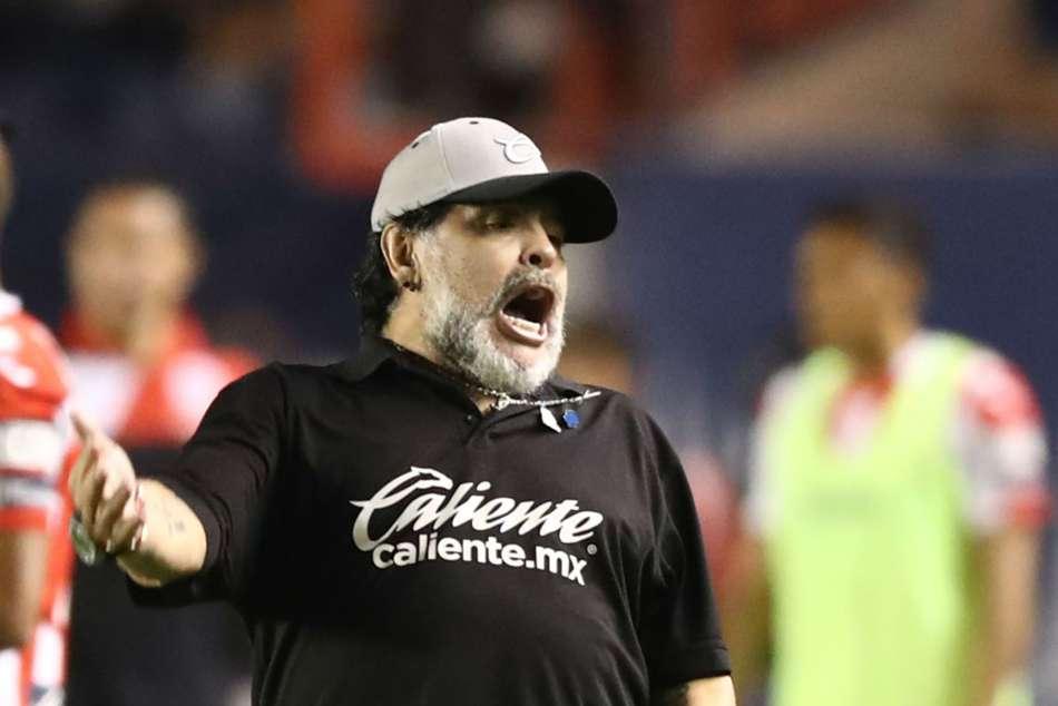 Diego Maradona Dorados De Sinaloa Lose Ascenso Mx Final