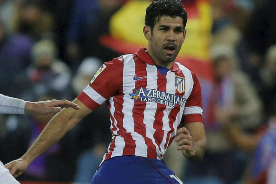 Napoli look to sign Atletico Madrid striker Diego Costa