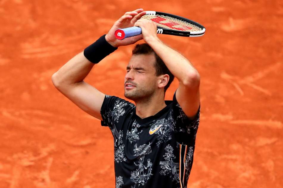French Open Grigor Dimitrov Marin Cilic Stan Wawrinka Rescues Fan Rafael Nadal Roger Federer Through