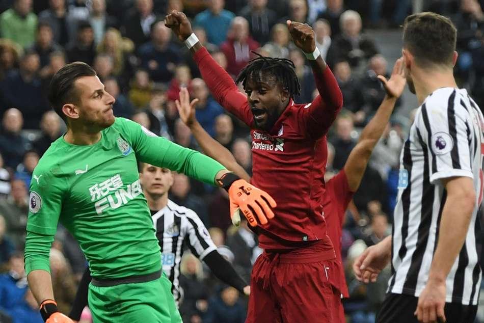 Newcastle United 2 Liverpool 3 Premier League Report Divock Origi Mohamed Salah Injury