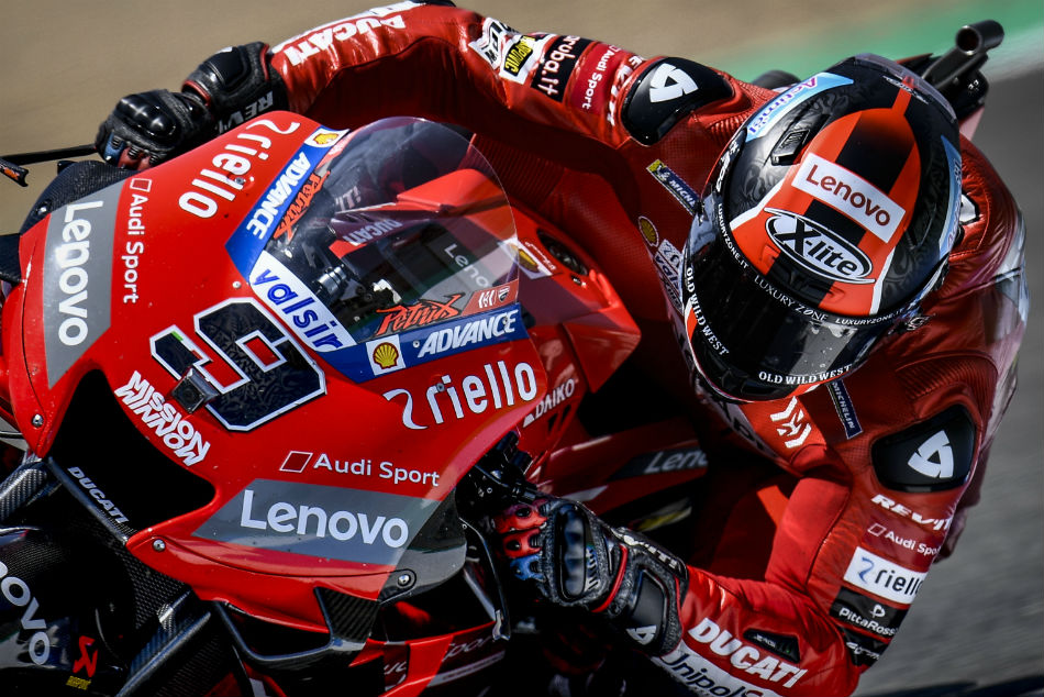 It S A Ducati Vs Honda Face Off On Day 1 In Jerez