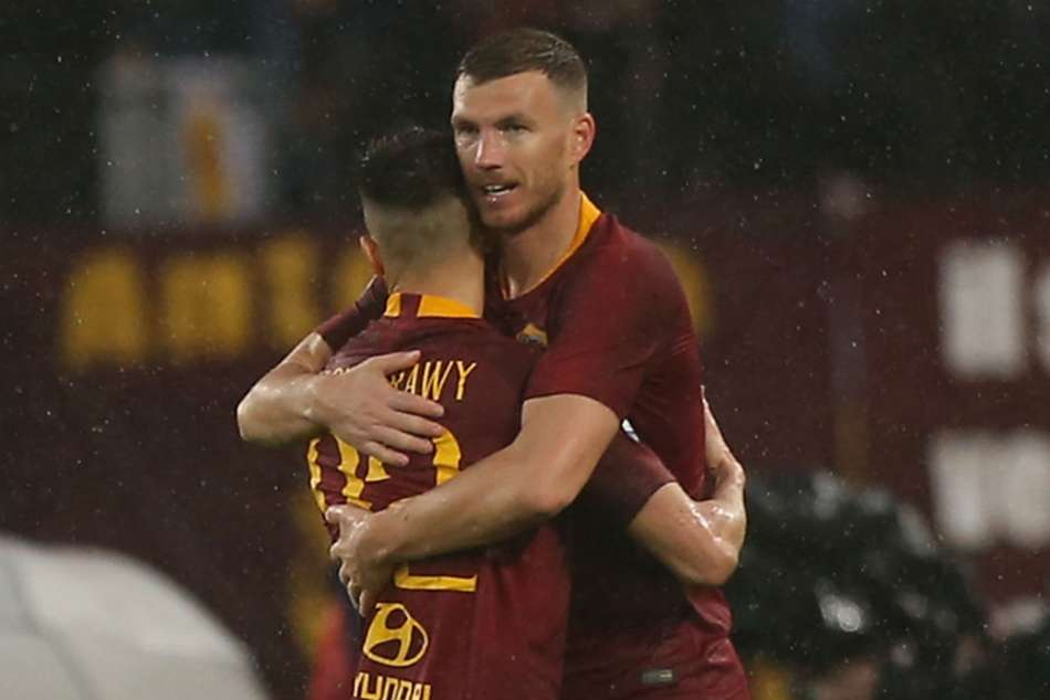 Roma Juventus Serie A Match Report Alessandro Florenzi Edin Dzeko