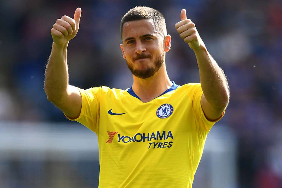 Eden Hazard I Think It Is Goodbye Chelsea Real Madrid News