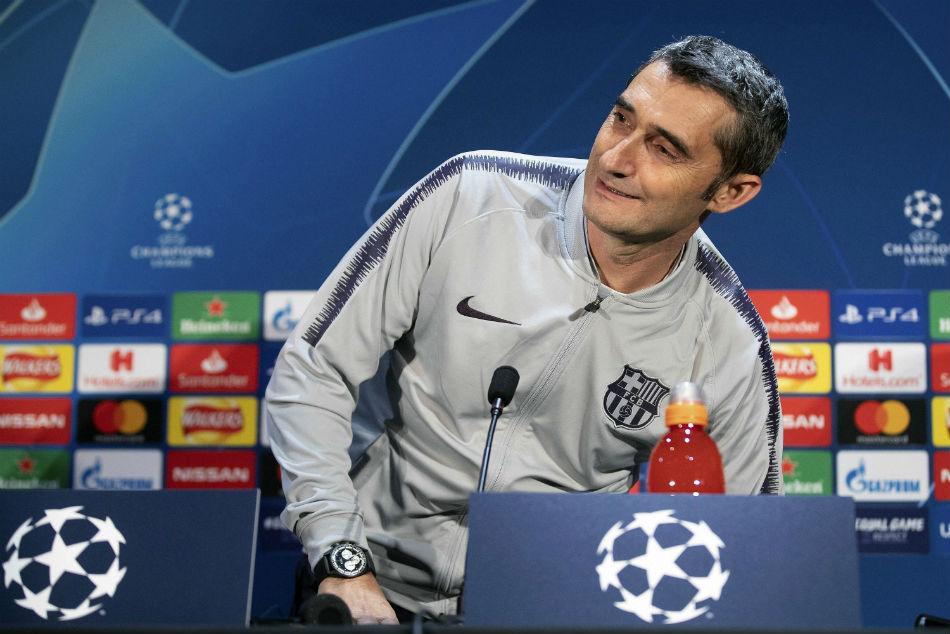 Valverde Feels Barcelona Support Despite Champions League Collapse