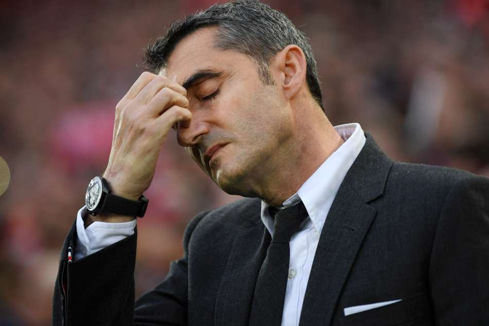 Ernesto Valverde No Excuses For Barcelona V Liverpool