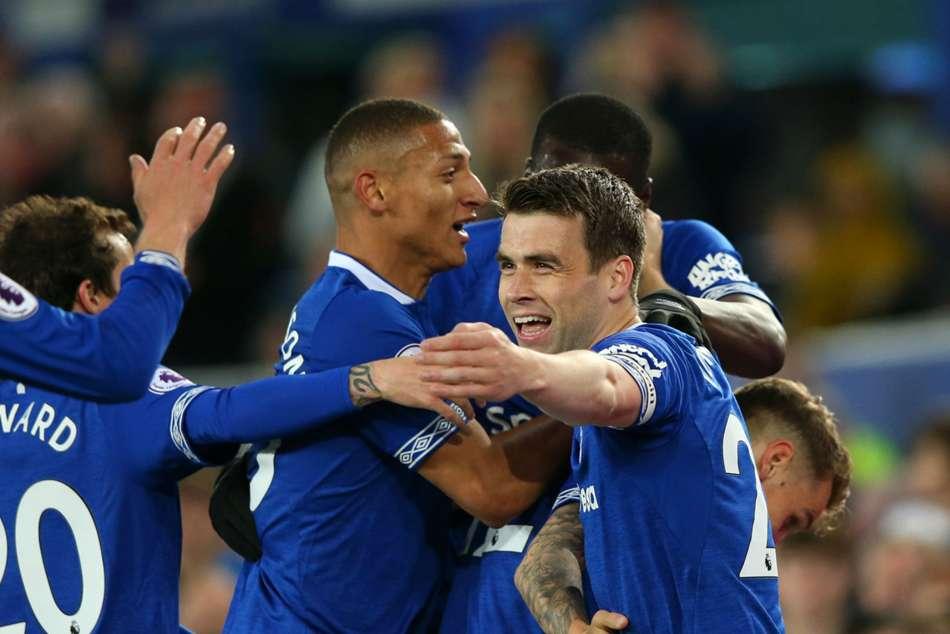Everton Burnley Premier League Ben Mee Own Goal Seamus Coleman