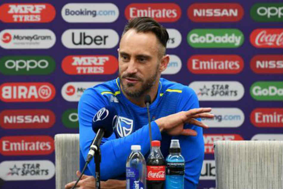 Icc World Cup 2019 We Want To Move Away From Defeat Quickly Faf Du Plessis