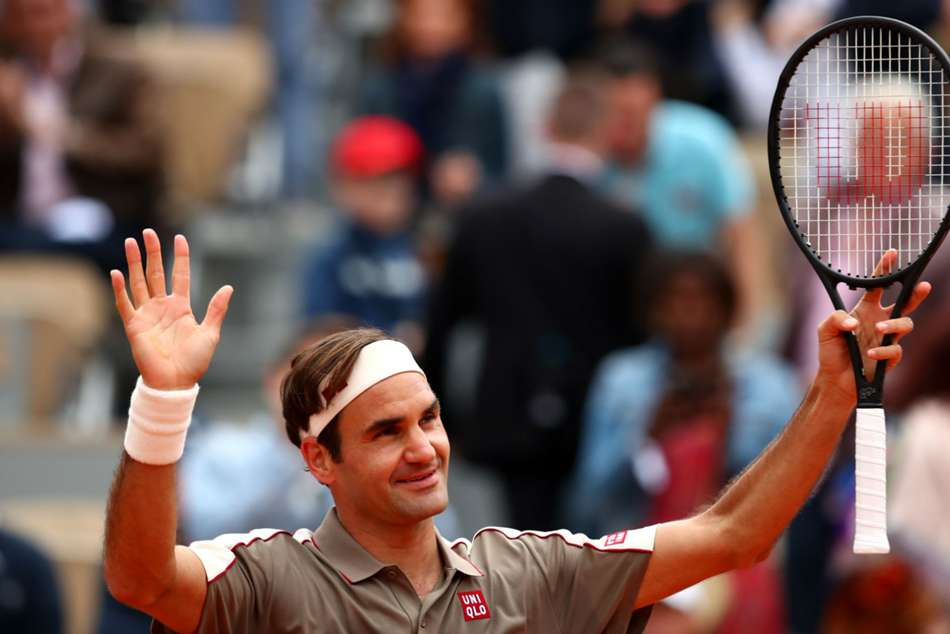 Roger Federer Beats Lorenzo Sonego French Open