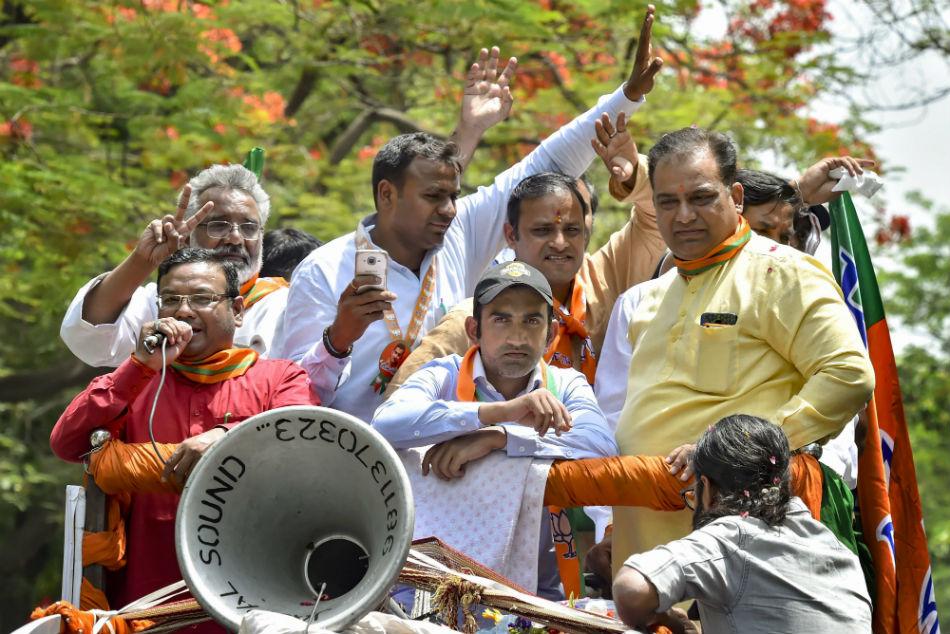 Vvs Laxman Harbhajan Singh Back Gautam Gambhir Following Row In Delhi Lok Sabha Elections