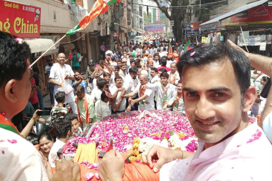 Former India Cricketers Who Won And Lost In Elections Gautam Gambhir
