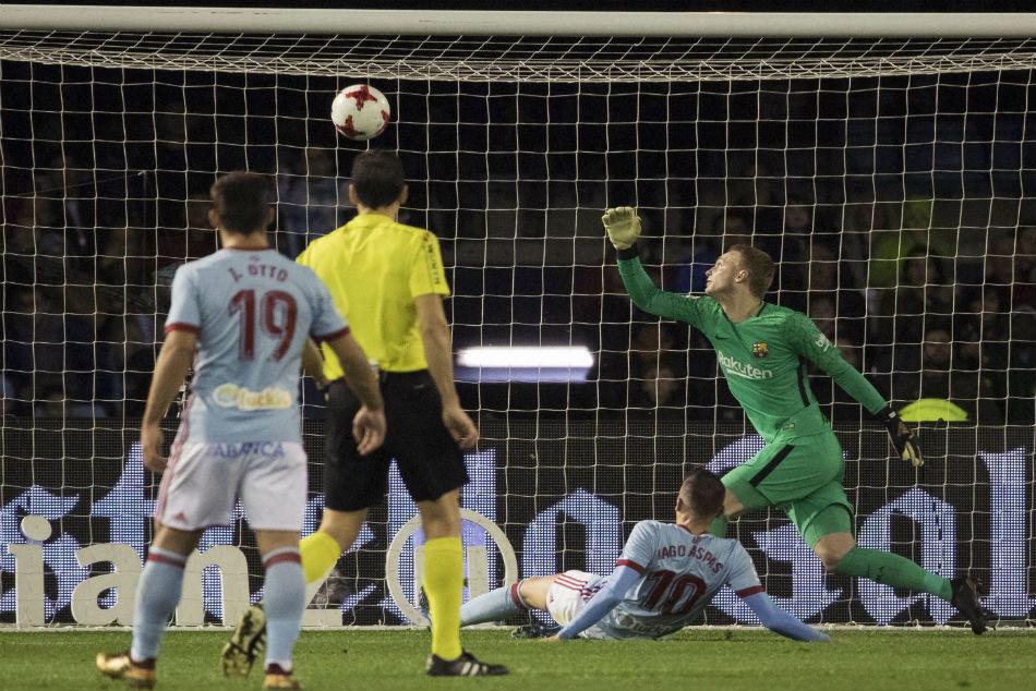 La Liga Under Strength Barcelona Beaten By Celta Vigo