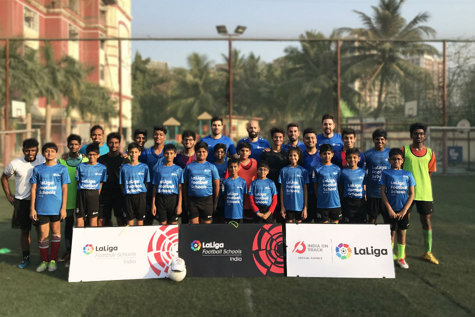 Spanish Clubs Tie Up With India S La Liga Football Schools
