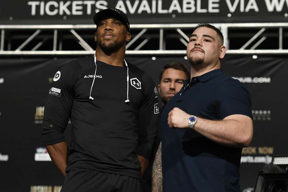 Anthony Joshua Says Andy Ruiz Jr As Dangerous As Deontay Wilder Tyson Fury