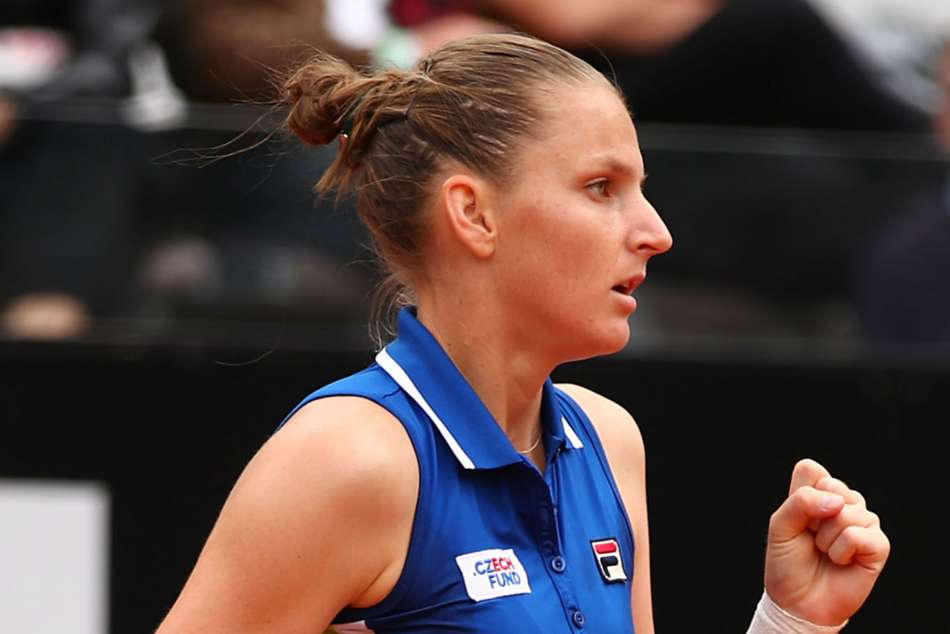 Pliskova seals Rome title with straight-sets win
