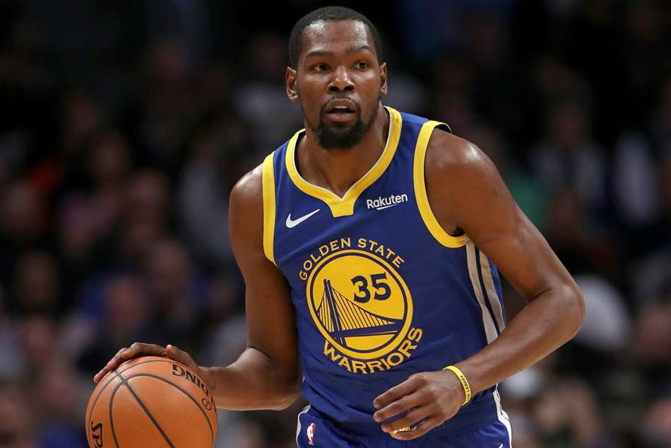 Golden State Warriors star Kevin Durant