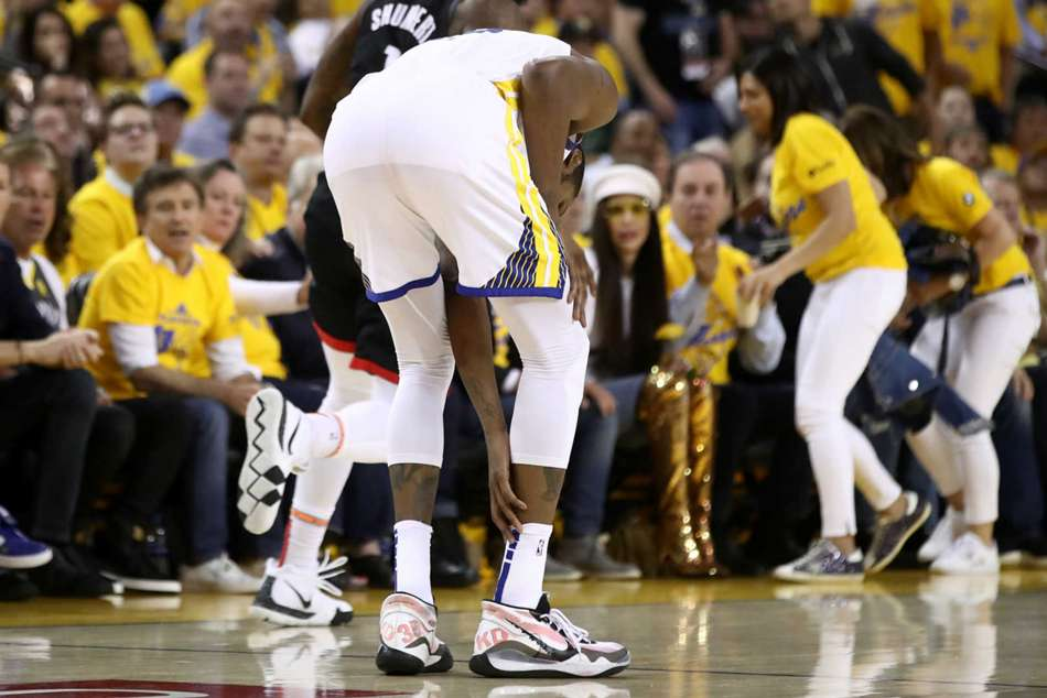 Warriors star Kevin Durant ruled out of series against Rockets with a calf injury