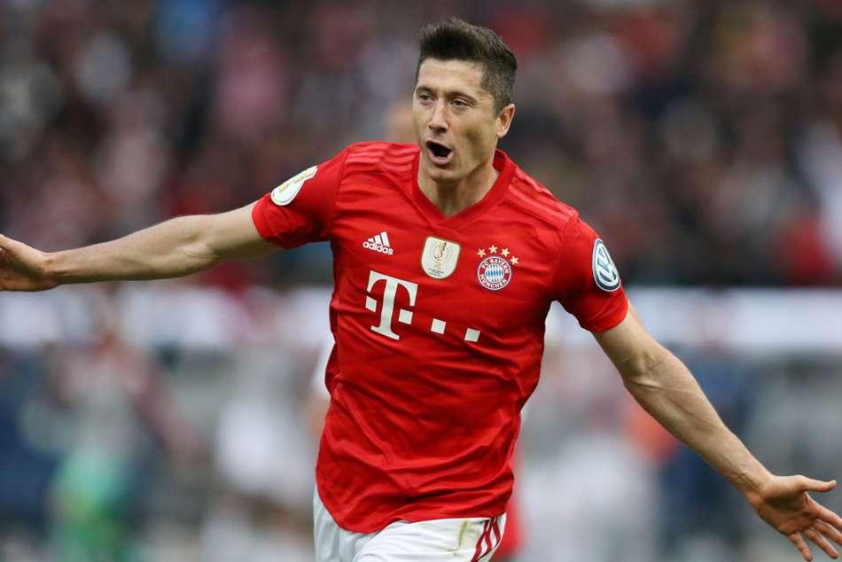 Bayern Munich 3 RB Leipzig 0: Lewandowski's brace helps secure domestic double