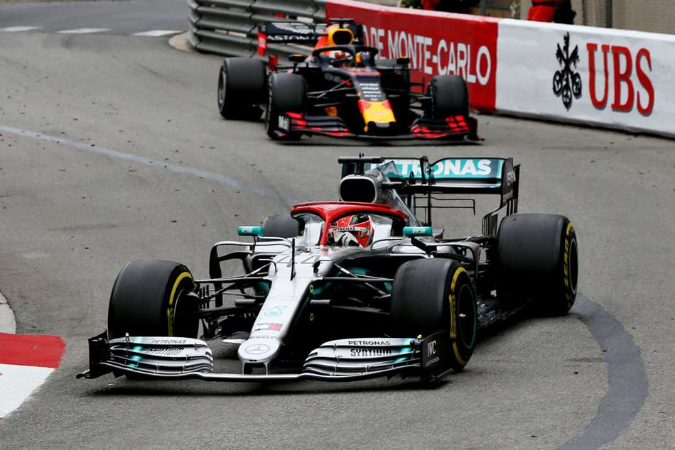 Hamilton clings on for Monaco glory but Mercedes one-two run ends