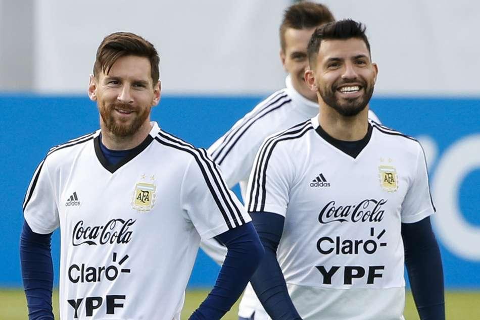 Lionel Messi Sergio Aguero Ballon Dor Champions League