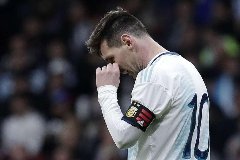 Barack Obama Argentina Messi World Cup Struggles